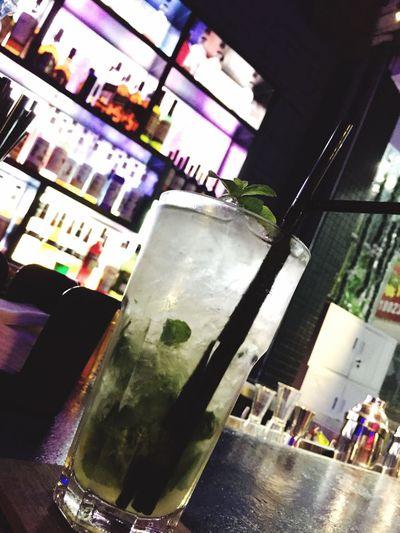 想不到在陽江可以喝到這麽好喝的Mojito! Mojito Cocktails Cocktail Professional Bar Enjoy Delicious