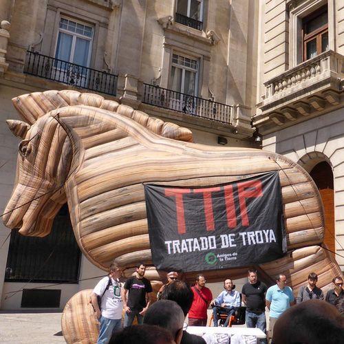 Ahora en Zaragoza Noalttip TTIPsecret