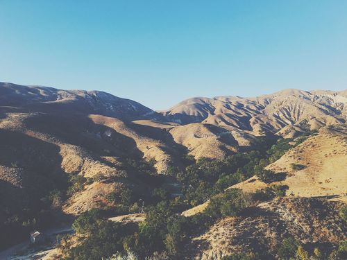 Hills for days Mountain Tranquility Scenics Nature Beauty In Nature Day Mountain Range California Outdoors No People Clear Sky Landscape Sky Hills Rolling Hills Golden Texture Shadow Light And Shadow Foothills Ridge Valley Topography Relief Soft