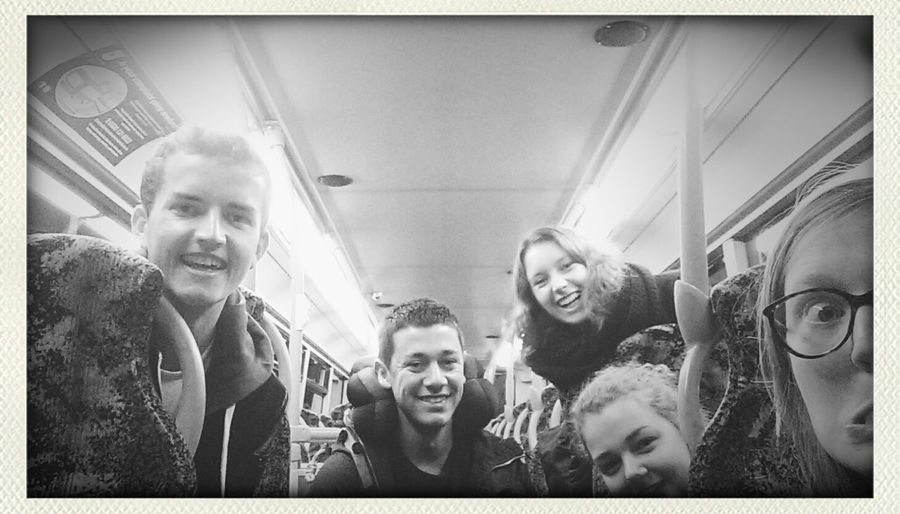 On our way to Edinburgh :)
