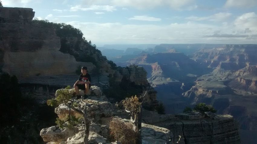 Grand Canyon Arizona Enjoying The View Wow_america_landscape Natural Beauty