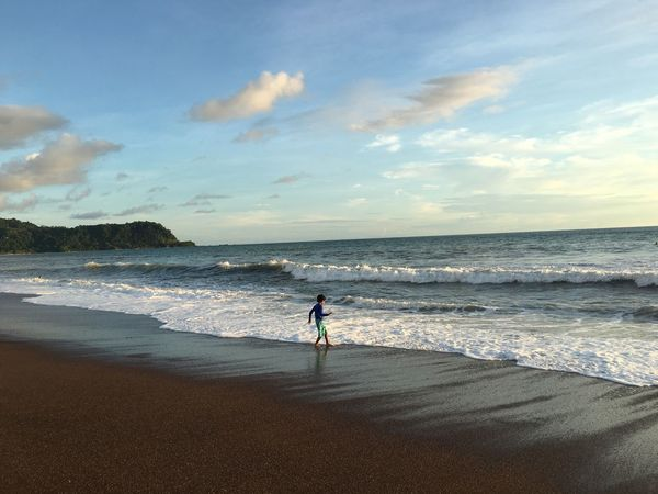 Jaco Beach Beach Photography Beach Life Costa Rica Destination Travel Nature Kids Playing At The Beach