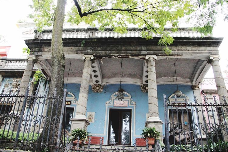 Visiting My City San Angel Old Mansion Mexico City