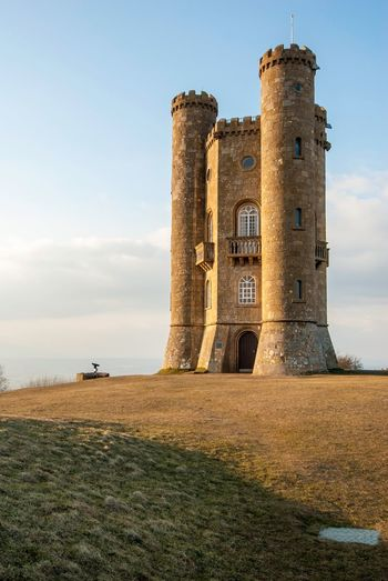 England Broadway Tower Architecture Dawn United Kingdom Classical Architecture Angusleung