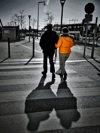 Two People Silhouette Women Adults Only Adult Outdoors People Togetherness Warm Clothing Day EyeEm Street Photography Eyeem Street Photogtaphy Street Photography City View  Cityexplorer Monochrome Photography Bnwlovers Monochrome Yellow Shadows And Silhouettes Shadow Eyeem Shadows Eyeem Shadow Official Photos Club👥👤👥 The Street Photographer - 2017 EyeEm Awards Paint The Town Yellow
