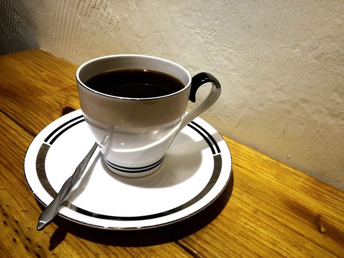 It's coffee time after dinner Blackcoffe Nicetry