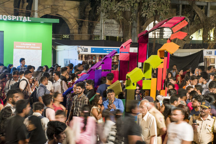 Kalaghoda Art Festival Mumbai Movement EyeEm Selects Large Group Of People Crowd People Adult Politics Unity City Outdoors Men Women Day Inner Power The Photojournalist - 2018 EyeEm Awards The Street Photographer - 2018 EyeEm Awards A New Beginning