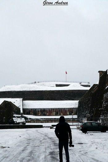 Belfort Blanc Citadelle De Belfort Neige❄ Snow ❄ Hiver