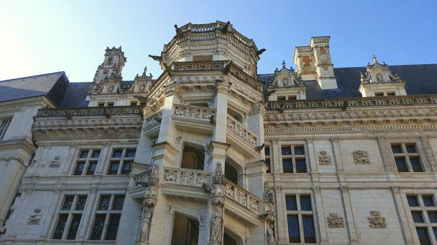 Blois Escalier En Colimaçon Tour Chateaux