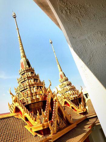 Loha Prasat Golden Traditional Thai Building Temple - Building Tradition Old Building  In And Out Contrast BKK Thailand The City Light The Architect - 2017 EyeEm Awards The Photojournalist - 2017 EyeEm Awards