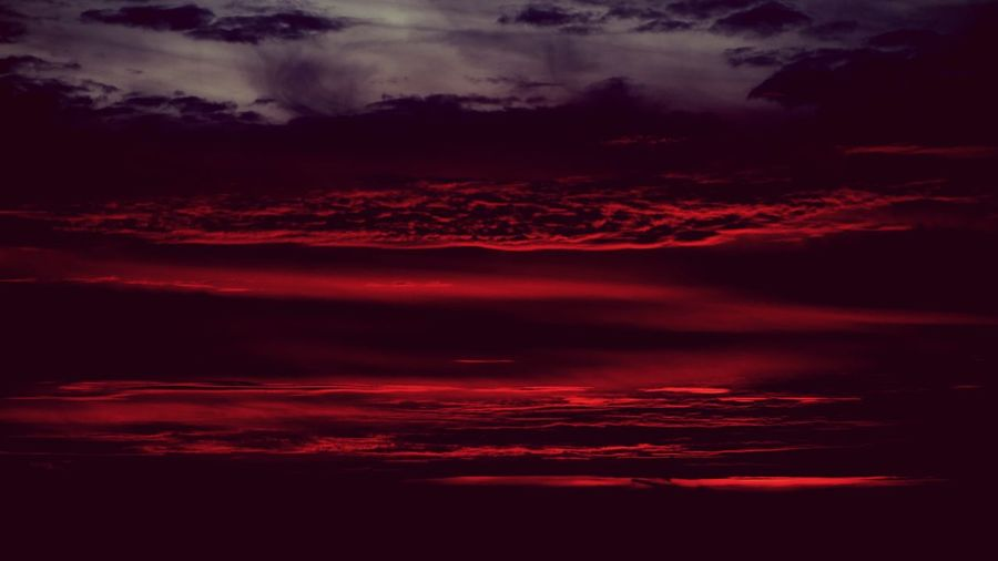 A dramatic sunset and sky. Striped Focus On Foreground Heavenly Purple Nature_collection EyeEm Best Shots Cloud Formations Day Backgrounds Romantic Sky Cloud - Sky Sky Beauty In Nature Scenics - Nature No People Tranquility Red Dramatic Sky Cloudscape Tranquil Scene Idyllic Full Frame Nature Sunset Outdoors