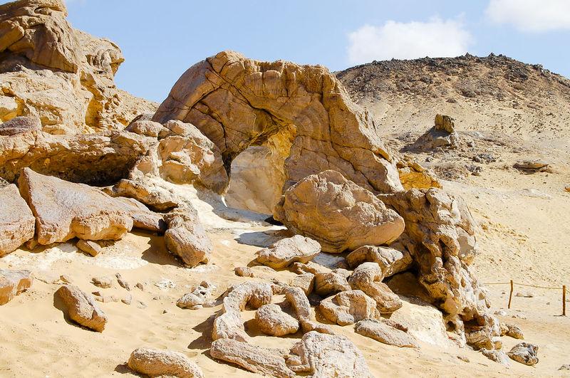 Crystal Mountain - Egypt Desert Egypt Quartz Crystal Mountain Geology Nature Rock Formation Sand White Desert