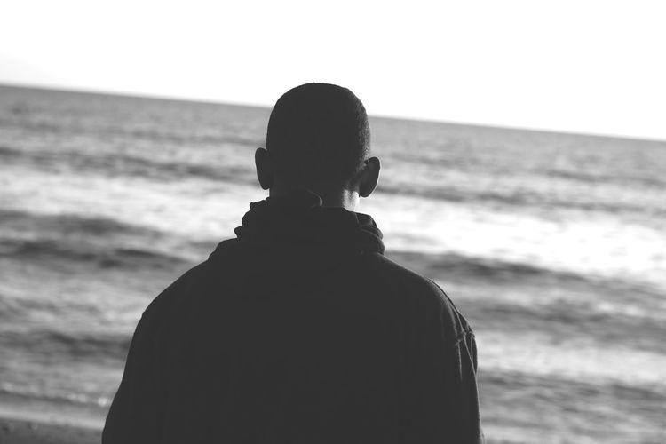 Sea Human Back