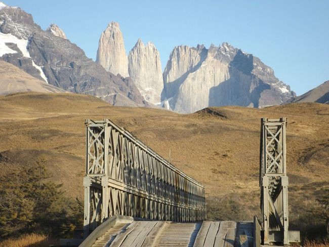The Journey Is The Destination torres del paine. camino entre laguna amarga y valle ascencio. TorresDelPaine Patagonia