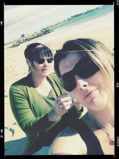 My Mum ♥  Beach Photo♡ Enjoying Life