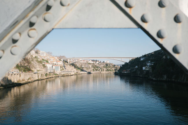 Porto 2017 Douro  Porto Portugal Bridge Bridge - Man Made Structure Ponte River