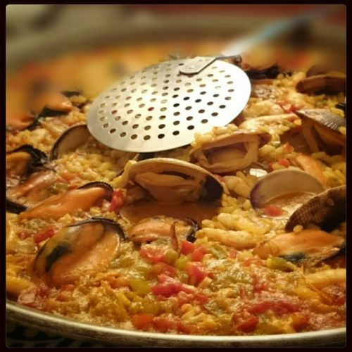 Lunch trip to Madrid Sonyxperiaz2 Backgrounddefocus Madrid SPAIN #paella