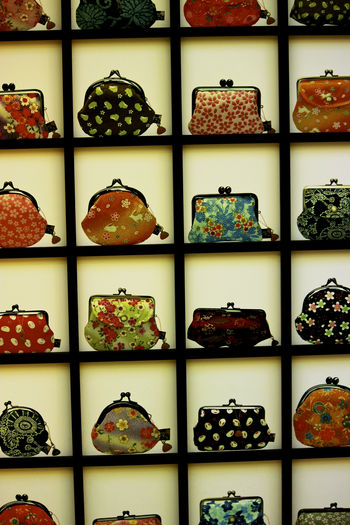 Purses Backgrounds Close-up Collage Full Frame Indoors  Multi Colored No People Pattern Purses