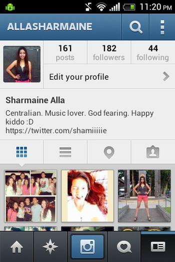 heyya guys! follow me on instagram @allasharmaine. thank tou :)z FollowMeOnInstagram Followers Check This Out