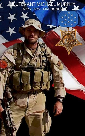 Honoring Navy Seal LT Michael Murphy who selflessly sacrificed his life eleven years ago today in Afghanistan during Operation Red Wings