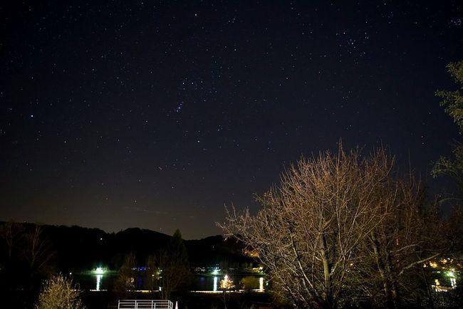 Orion, Stars, from balcony, Rhine, Germany, Sona A7, zeiss 30mm f4