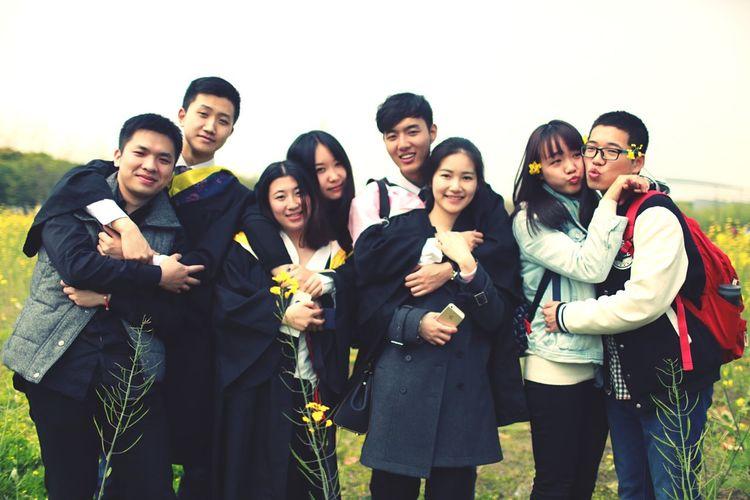 毕业季 上海对外经贸大学