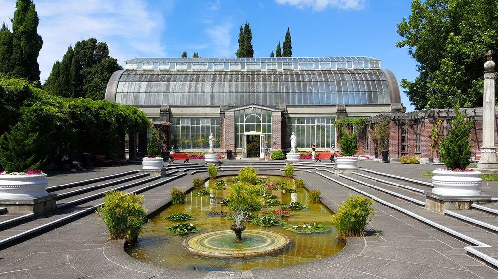 Garden Architecture Winter Garden