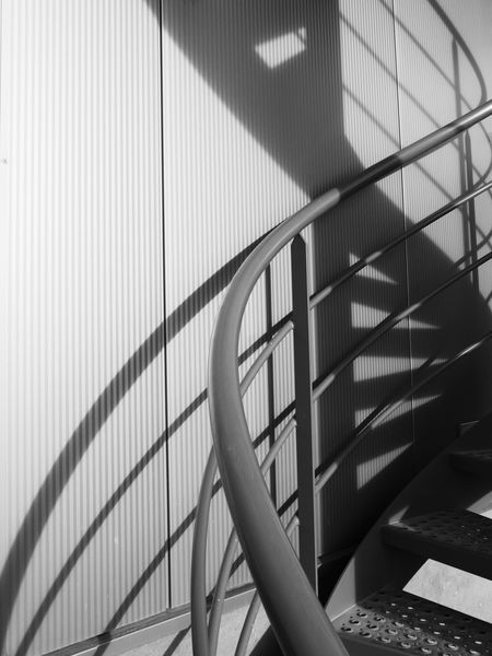 Stairway Spiral Staircase Stairs Light And Shadow Black And White Monochrome The Architect - 2016 EyeEm Awards