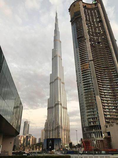 Skyscraper Burj Khalifa Dubai City
