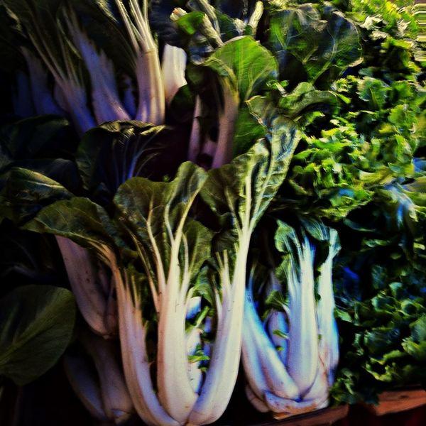 Bok choy boosted. Enjoying Life Fresh Produce Hello World Farmers Market