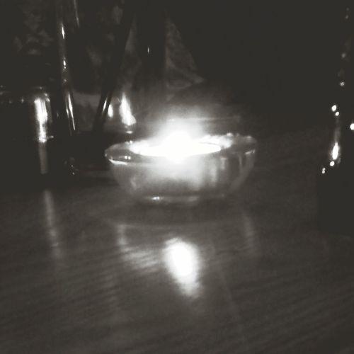 Candlelight Italian Restaurant Blackandwhite