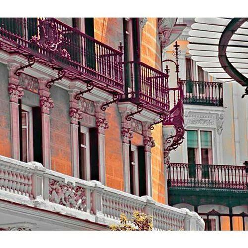 Naranja Orange Desaturation Desaturated Madrid Espagne SPAIN Architecture Pintura