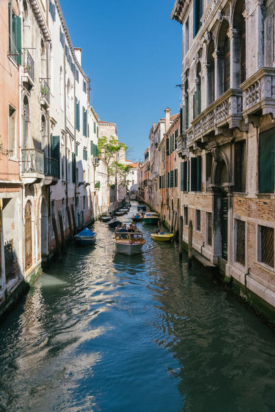 All_shots Boat Boats Bright Day Canal High Contrast Peace Peaceful Summer Sunny Travel Travel Destinations Travel Photography Vacation Vacations Venice Venice, Italy VSCO Vscogood Waterway