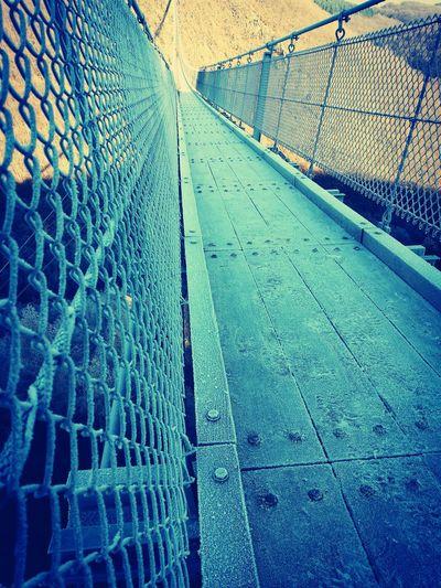 Deutschlands Längste Hängebrücke Eis Glatt Wintertime ⛄ Aussicht Outdoors Geierlay Hängeseilbrücke