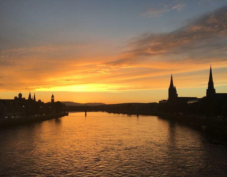 I Love Scotland Sunset River Ness River Ness Church Inverness No Filter