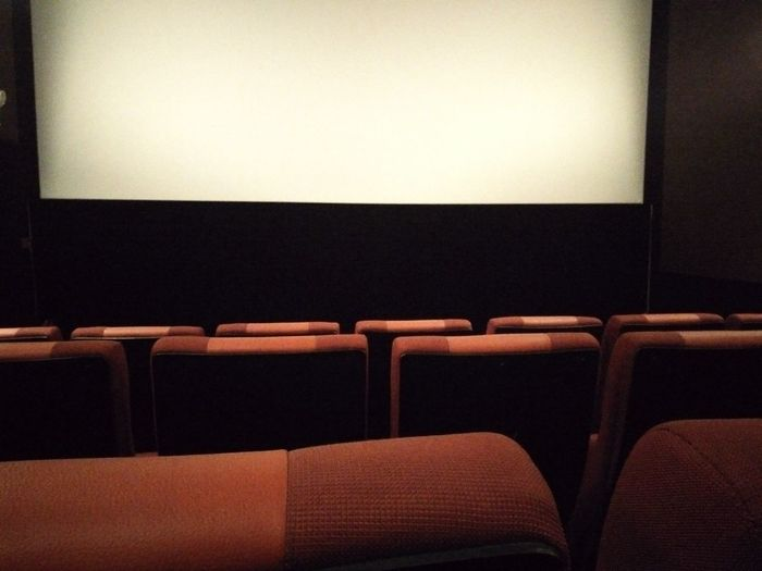 Movie Theater Indoors  Seat Empty No People Film Industry MOVIE Stage Theater In A Row Arts Culture And Entertainment Projection Screen