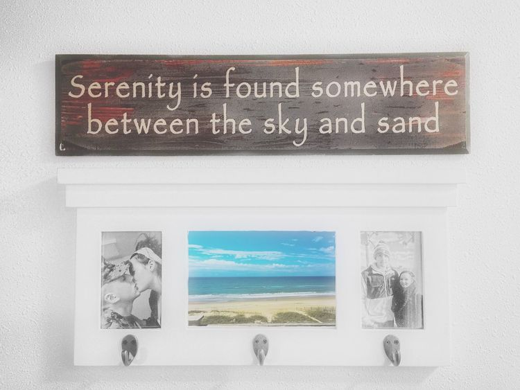 You can always find me where the sky meets the sand Serenity Love Ocean Sky Home
