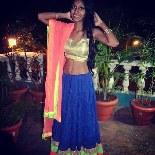 Traditionalday2013 Indian Lehenga Myfavouritecolours