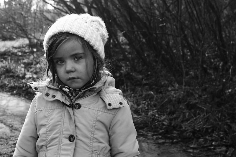 Child Childhood Close-up Day Looking At Camera One Person Outdoors People Portrait Real People Smiling Warm Clothing The Portraitist - 2018 EyeEm Awards