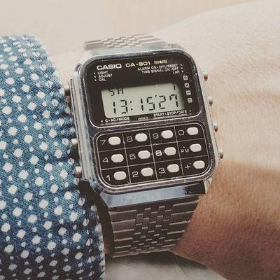 1981 Casio CA-901 Vintagewatch Instawatch Watchporn Watchuseek Casioholics @casio_us Wristshot Watchesofinstagram Watchoftheday Watchfam @casio.watches