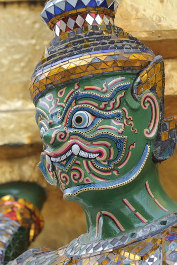 Multi Colored Close-up Outdoors Day No People Statue