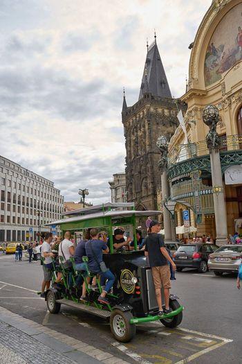 Beer car Praha ❤️ Beer 체코공화국 EyeEm Best Shots A7m2 City Religion Architecture Sky