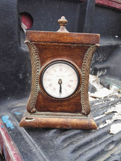 Time Clock Old-fashioned No People Indoors  Clock Face