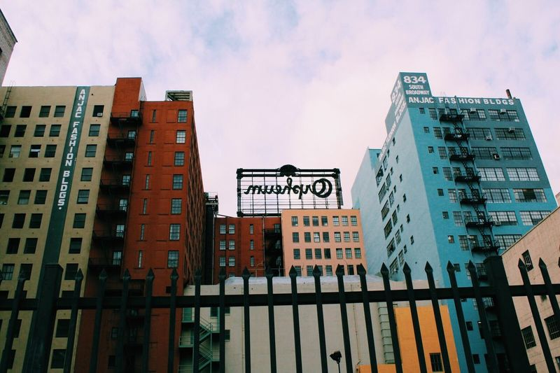 Colores DowntownLA LAFashionDistrict Architecture Building Exterior Colors EyeEmNewHere EyeEmNewHere