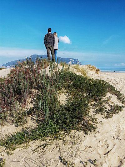Laredo Cantabriainfinita Amor Playa Sand Arena Mar Sky Beauty In Nature Sea People Love Movilefotografy