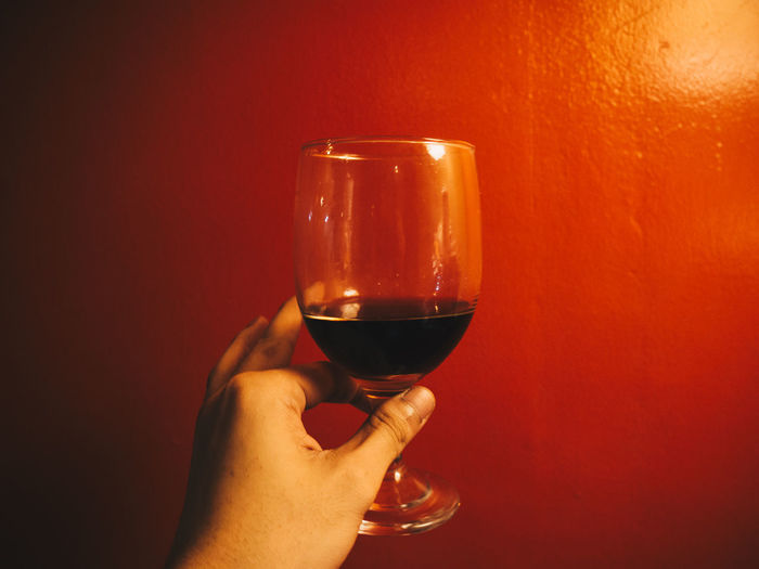 Wineglass Human Hand EyeEm Best Shots Adults Only Alcohol Red Wine Personal Perspective Olympus OLYMPUS PEN E-P3 Neon Life Wine Not