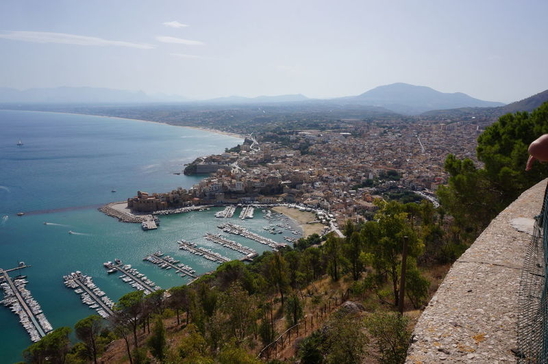 #CastellammareDelGolfo Cityscape High Angle View Landscape Outdoors Scenics Sea Sky
