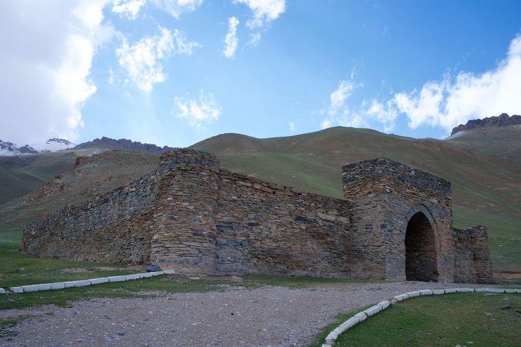 Kyrgyzstan Tash Rabat Ancient Old Ancient Civilization Archaeology Architecture Mountain