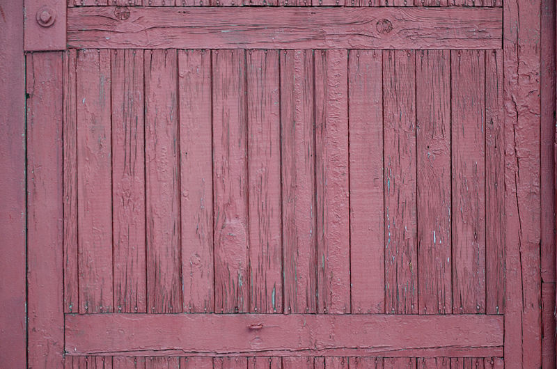 Full frame shot of wooden door