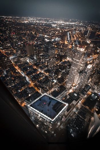 Wish I can see this view out my window everyday EyeEmNewHere Street Night NYC Photography One World Trade Center NYC EyeEm Best Shots City Water Cityscape Transportation Glowing Building Motion Outdoors